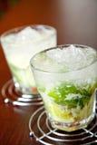 Coleção dos cocktail - Caipirinha Foto de Stock