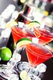 Coleção dos cocktail - cosmopolita Foto de Stock Royalty Free