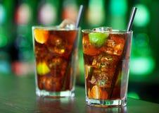 Coleção dos cocktail - Cuba Libre Imagens de Stock Royalty Free