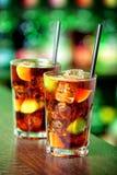 Coleção dos cocktail - Cuba Libre Foto de Stock