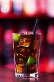 Coleção dos cocktail - Cuba Libre Fotografia de Stock Royalty Free