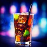 Coleção dos cocktail - Cuba Libre Fotografia de Stock