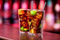 Coleção dos cocktail - Cuba Libre Imagem de Stock Royalty Free