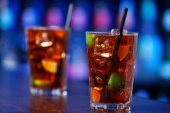 Coleção dos cocktail - Cuba Libre Fotos de Stock Royalty Free