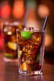 Coleção dos cocktail - Cuba Libre Imagem de Stock