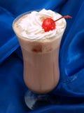 Coleção dos cocktail - milks shake do chocolate e da morango imagem de stock royalty free