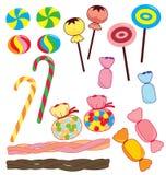 Coleção dos doces Fotos de Stock