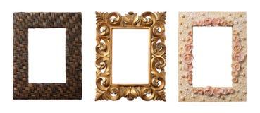 Coleção dos frames Foto de Stock Royalty Free