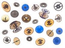 Coleção dos gearweels Fotografia de Stock