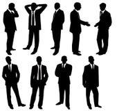 Coleção dos homens de negócios Fotos de Stock Royalty Free