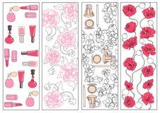 Coleção dos ornamento ilustração royalty free