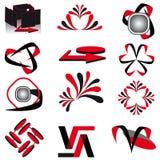 A coleção dos símbolos Fotos de Stock Royalty Free