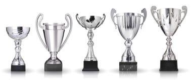 Coleção dos troféus Imagens de Stock