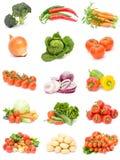 Coleção dos vegetais Imagens de Stock Royalty Free