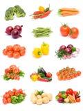 Coleção dos vegetais Foto de Stock Royalty Free