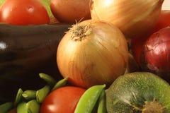 Coleção dos vegetais Fotos de Stock Royalty Free