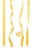 Coleção dourada da fita Imagens de Stock Royalty Free