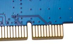 Coleção eletrônica - conector do PCI Imagens de Stock