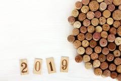 Coleção gourmet 2019 imagens de stock royalty free