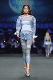 Coleção nova do desfile de moda Fotografia de Stock Royalty Free