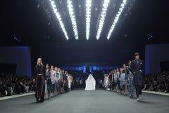 Coleção nova do desfile de moda Imagem de Stock