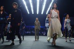 Coleção nova do desfile de moda Fotos de Stock Royalty Free