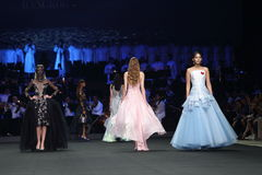 Coleção nova do desfile de moda Imagem de Stock Royalty Free