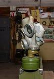 Coleção original de máscaras de gás soviéticas ex (de URSS) Fotos de Stock Royalty Free