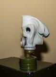 Coleção original de máscaras de gás soviéticas ex (de URSS) Foto de Stock Royalty Free