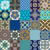 Coleção persa sem emenda da telha Foto de Stock