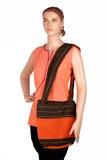 Coleção salwar indiana do kaeez e da estola Imagem de Stock