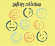 coleção smilelyday Imagem de Stock