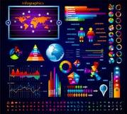 Coleção superior do mestre do infographics: Imagens de Stock