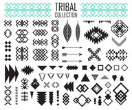 Coleção tribal dos elementos Fotografia de Stock