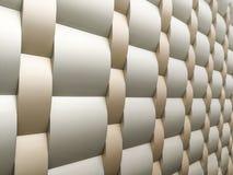 Coleções da imagem dos testes padrões arquitetónicos de alumínio do metal Imagem de Stock