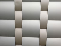 Coleções da imagem dos testes padrões arquitetónicos de alumínio do metal Imagem de Stock Royalty Free