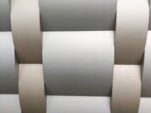 Coleções da imagem dos testes padrões arquitetónicos de alumínio do metal Imagens de Stock