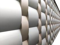 Coleções da imagem dos testes padrões arquitetónicos de alumínio do metal Fotos de Stock Royalty Free