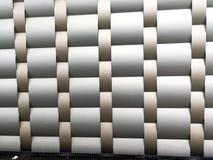 Coleções da imagem dos testes padrões arquitetónicos de alumínio do metal Foto de Stock