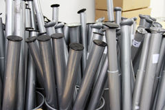 Coleções de colunas do cilindro Fotografia de Stock Royalty Free