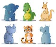 Coleções dos animais Imagem de Stock Royalty Free