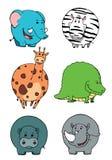 Coleções dos animais Foto de Stock Royalty Free
