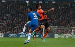 Cole against Teixeira Stock Photos
