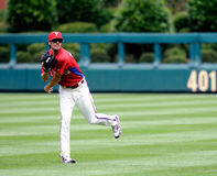 Cole Hamels - Philadelphia Phillies - pregame Stock Images