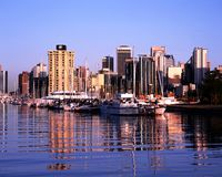 Cole Harbour, Vancouver. Stock Images