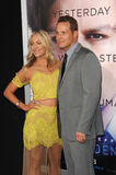 Cole Hauser & Cynthia Daniel royalty free stock photography