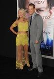 Cole Hauser & Cynthia Daniel royalty free stock photos