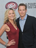 Cole Hauser & Cynthia Daniel Royalty Free Stock Photo