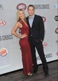 Cole Hauser y Cynthia Daniel Foto de archivo libre de regalías