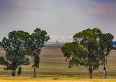 Cole Power Plant em África do Sul fotos de stock